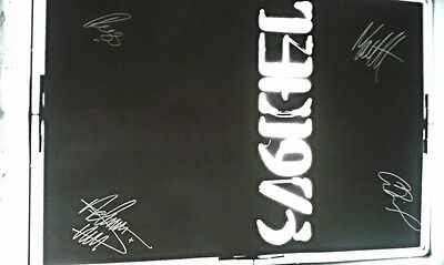 The 1975 Exclusive Autographed Fully Signed Poster Brits Indie Britpop C.O.A.