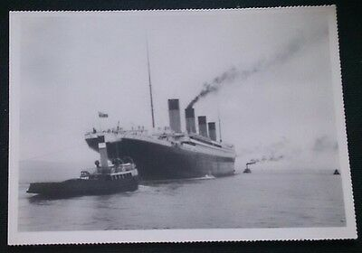 "The, ""TITANIC"" heading out for trials (1912)"
