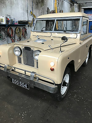 Land Rover Series 2A 1962, SWB Truck Cab