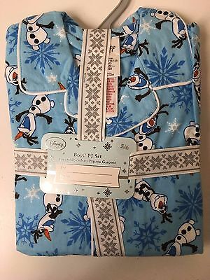 Disney Frozen Olaf Button-Up Pyjamas For Kids age 5-6 years