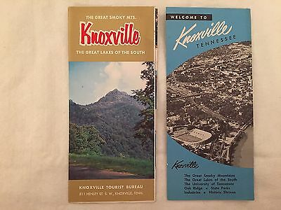 1950's Knoxville Tennessee Travel Brochures 1954 TN