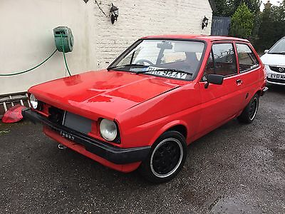 FORD FIESTA MK1 Zetec 1.8 Unfinished project MK1 XR2  Very Solid Shell