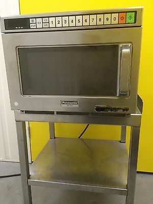 Panasonic Ne1856 Commercial Microwave Oven Good Condition,  Also Table