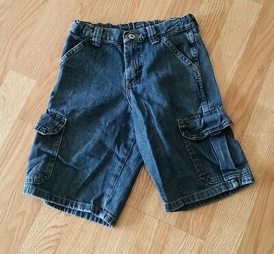 Boys size 8 Wrangler jean shorts with adjustable waist