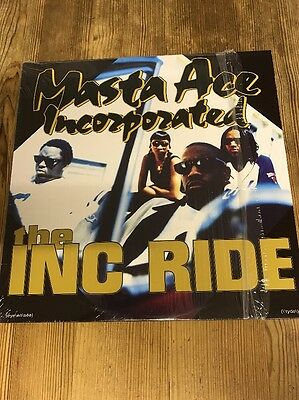 "Masta Ace Vinyl Record (the INC RIDE) 12"" Classic Single"