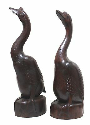 Hand Carved Geese from Indosnsia