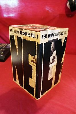 Neil Young ARCHIVES VOL. 1 BOXED SET OPEN BUT MINT