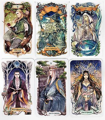 Oop EA  tarot -The Lord of the Rings cards deck self-published