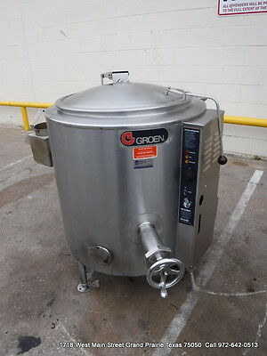 Groen Gas Steam Kettle 40 Gallons, Model AH/1E-40