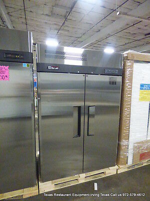 New Turbo Air 2 Door Stainless Steel Freezer, Model JF45-2
