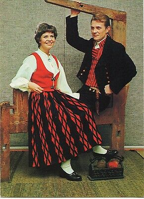 Finland - Native Costumes ~An Old Postcard (7G7)