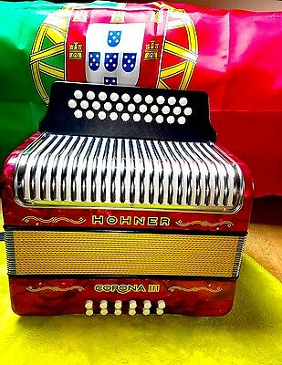 Accordeon diatonique Honher corona 3