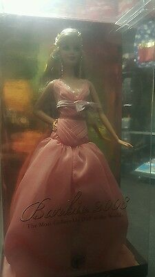 New Mattel 2008 Pink Label Barbie The most Collectible doll in the world