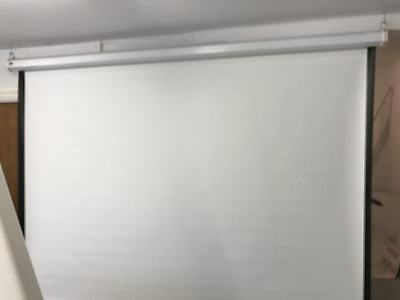 """100"""" Pull Down Projector Screen"""
