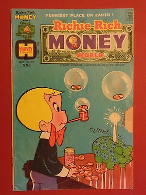 1974 May Vintage Richie Rich Money World Comic Book No. 11 published by Harvey