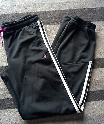 girls adidas tracksuit bottoms age 14-15 years
