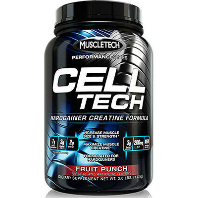 Muscletech Cell Tech Performance Series - 1.4kg Tub Fruit Punch