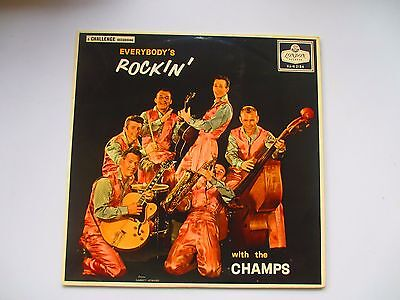 The Champs - Everybody's Rockin' with the Champs Original 1958 London Label EX