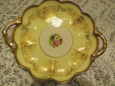 Antiques GEORGE JONES & SONS CRESCENT POTTERY CAKE - SERVING PLATE