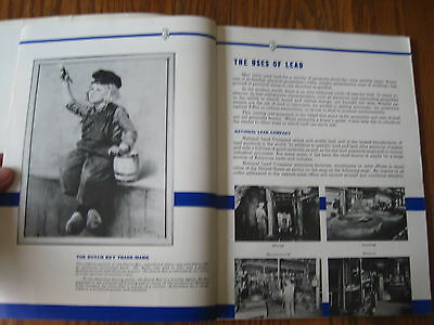Lead Products National Lead Co Dutch Painter Boy Booklet Covers Everything