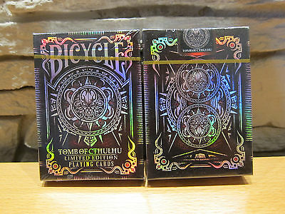 Bicycle Tomb of Cthulhu Limited Edition Foil Playing Cards