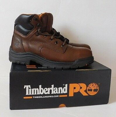 "NEW TIMBERLAND Pro TiTAN 6"" Safety Toe Leather Work Boots 26063 Size 13M NIB"
