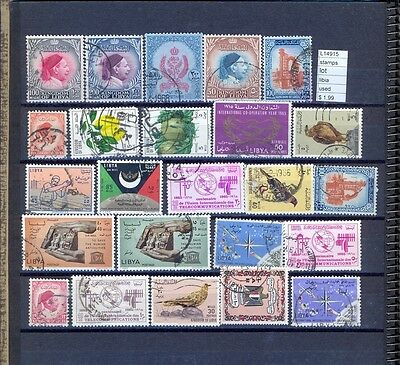 Stamps  Lot Lybia Used   (L14915)
