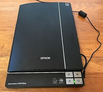 Epson Perfection V370 Document Photo Scanner ReadyScan LED 4800 x 9600 dpi