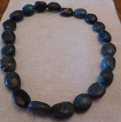 """Turquoise-14"""" String-22 Bead String"""