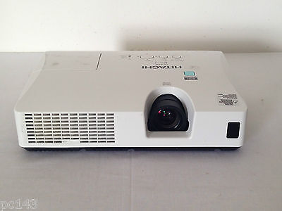 HITACHI CP-RX94 LCD HDMI PROJECTOR USED 3371h LAMP HOURS IMAGE OK | REF:1001