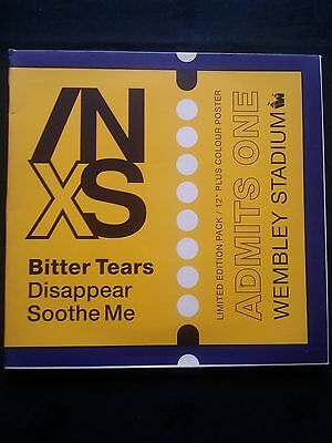 """INXS Bitter Tears Limited Edition 12"""" Record With Poster"""