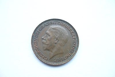 1935 old British farthing