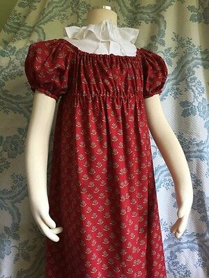 Girls Early 19th Century / Regency Era Gown sz. 8-10