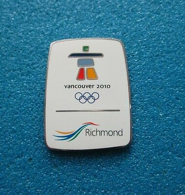 Richmond Vancouver 2010 Olympic Paralympic Winter Games  Pin # Ol- 43