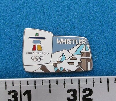 Whistler  Vancouver 2010 Olympic Paralympic Winter Games  Pin # Ol-238