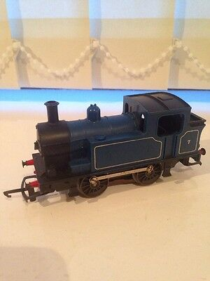 OO GAUGE TRIANG R355 0-4-0 In Blue Livery Good Condition And Good Runner