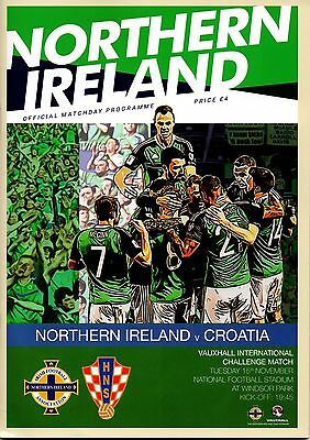 2016 Northern Ireland v Croatia (Friendly)