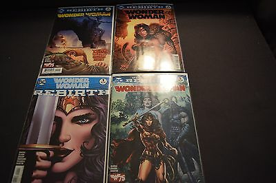 Complete DC Rebirth WonderWoman Rebirth and Issues 1-3 NM Bagged and Boarded