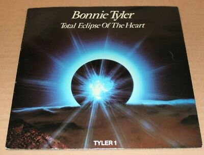 """Bonnie Tyler """"Total Eclipse of the Heart"""" 7"""" Pic Sleeve"""