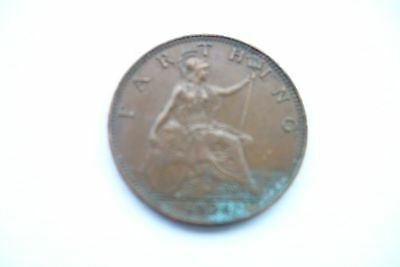1936 old British farthing.