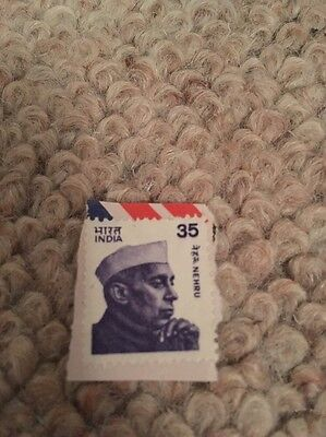 India Stamp Nehru 35 Clean