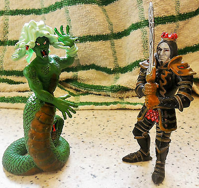 ELC - Tower Of Doom - Medusa & Knight - Used/Played With