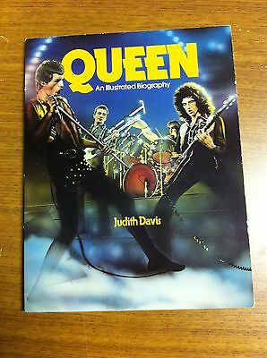Queen An Illustrated Biography Out Of Print First Printing Book 1981 Mercury May