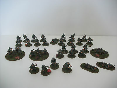Painted 28mm ww2 bolt action German early war 500 points army