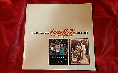 Coke Chronicle of Coca Cola Since 1886 Booklet Book
