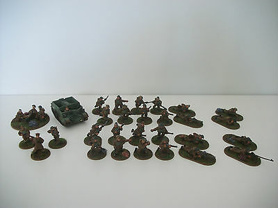 Painted 28mm ww2 bolt action British early war 500 points army