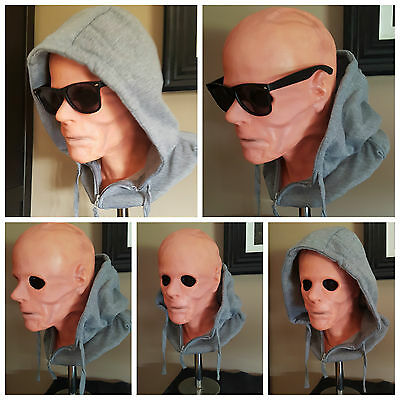1/1 Life size bust prop Kevin Bacon The Hollow Man Invisible Man Collectable