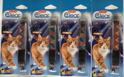 Bob Martin Clear Cat Flea Collar, Multi-Coloured!