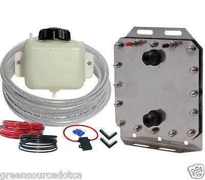 Hydrogen HHO generator kit for cars, dry cell, high output, installation video
