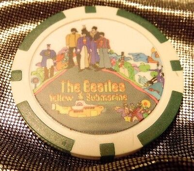 The Beatles Yellow Submarine Poker Chip
